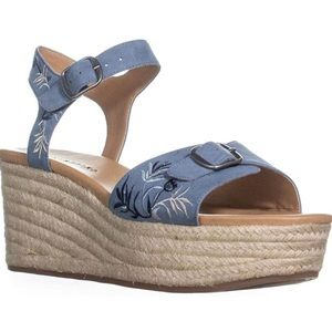 Lucky Brand wedge Sandals NWB
